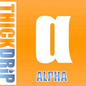 Thick Drip Alpha e liquid