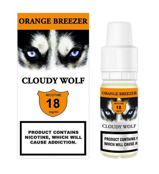 Orange Breezer e liquid